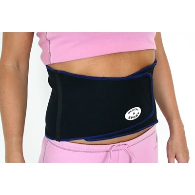 banding - waist black/blue