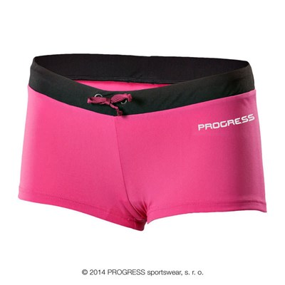MARINA ladies swim panties black/pink