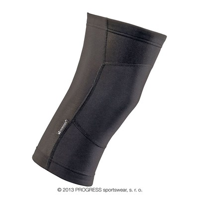 KNEE+ winter cycling knee warmers black