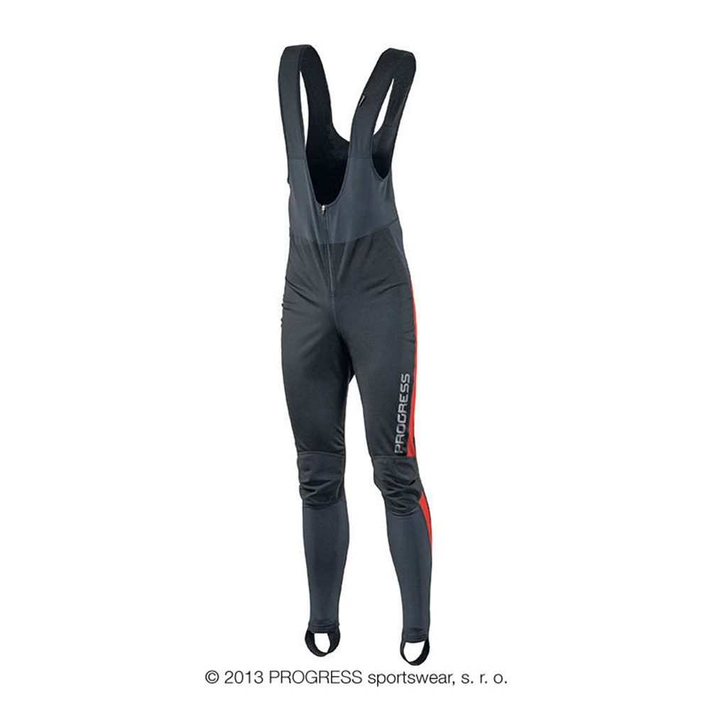 ZEPHYR winter BIB tights black