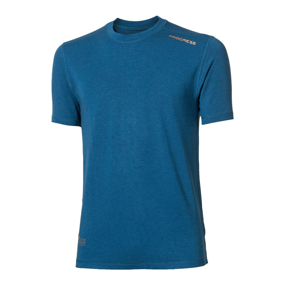 CC TKR mens functional short sleeve T-shirt anthracite