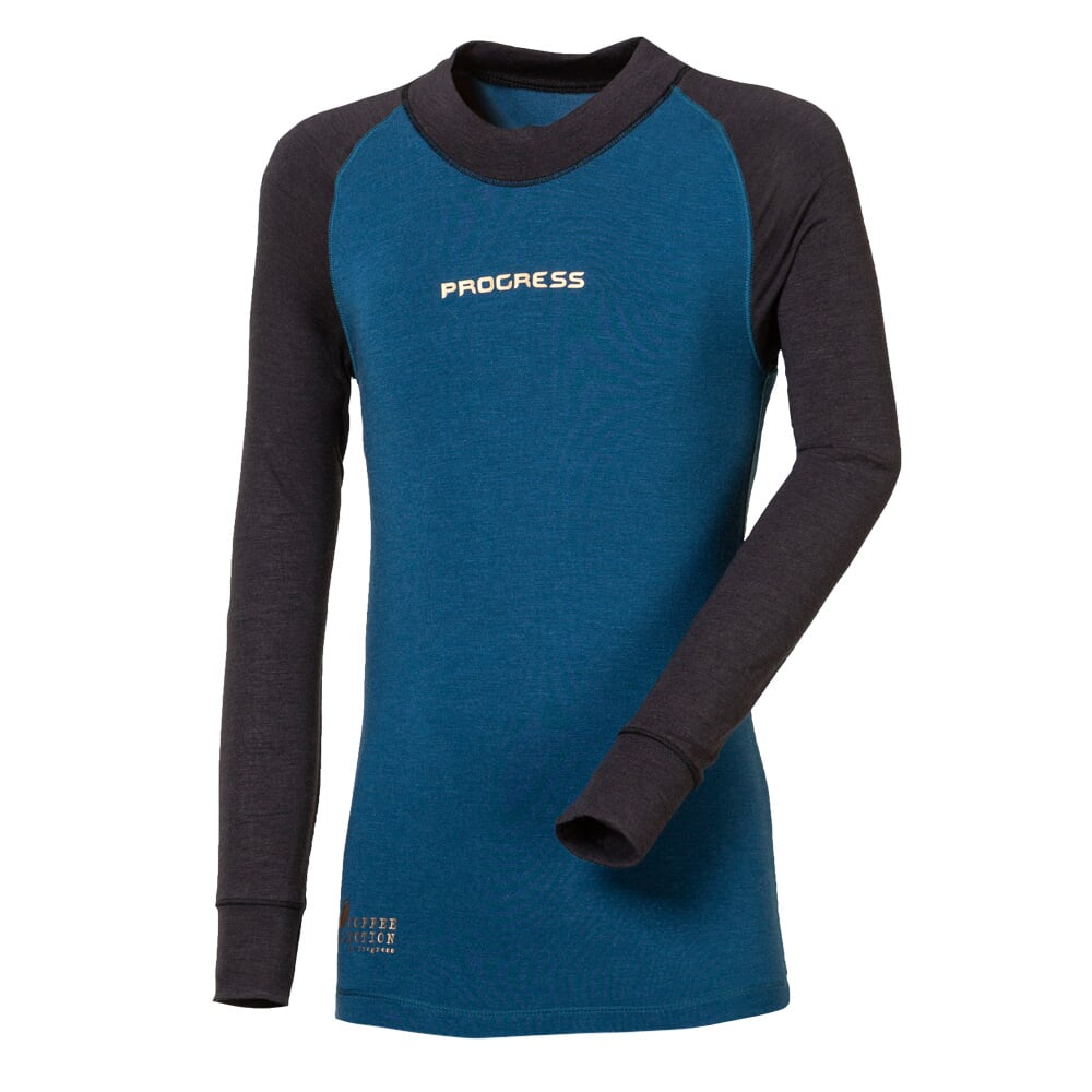 CC TDRD kids functional long sleeve T-shirt anthracite/blue