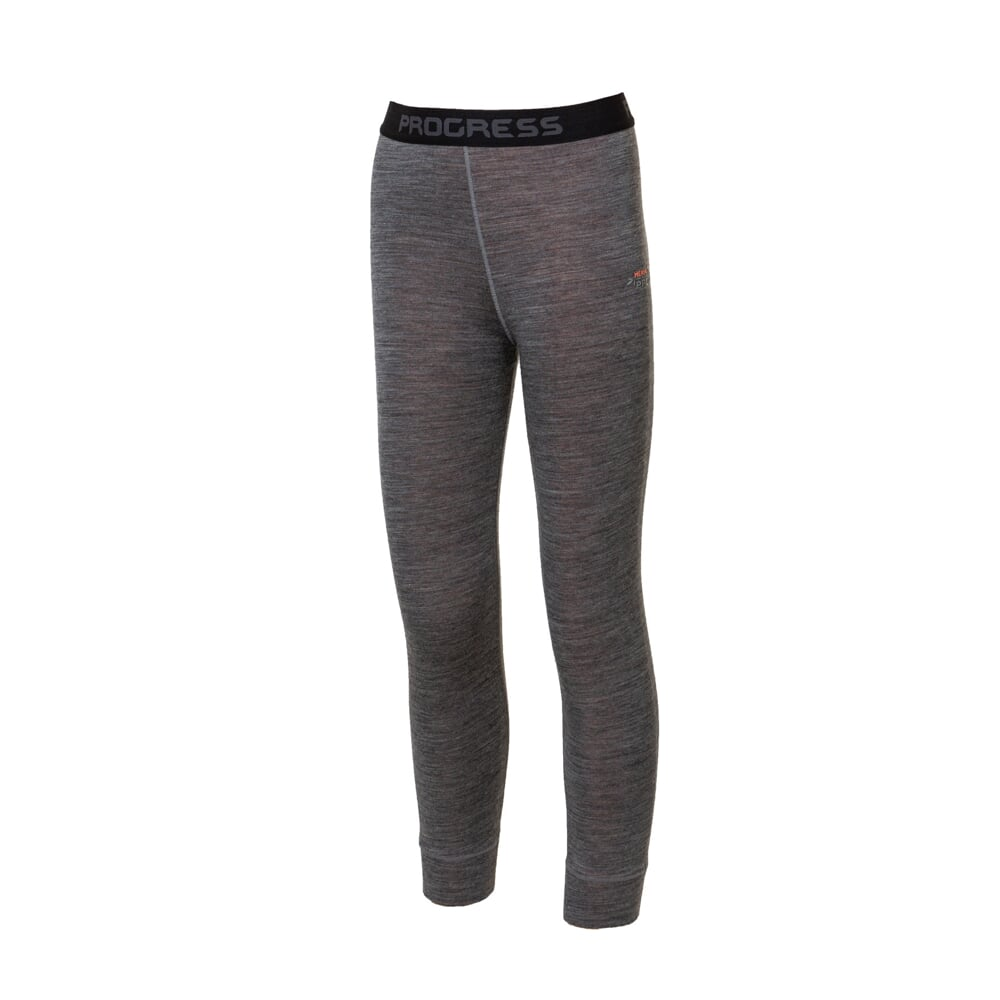 MB SDND kid's functional tights grey melange/petroleum