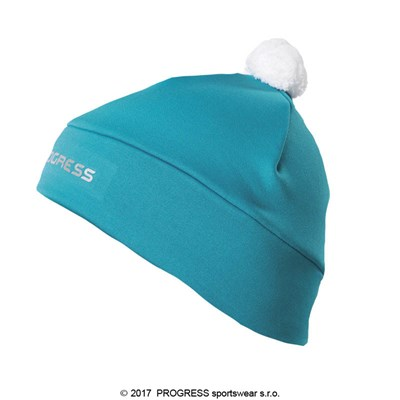 TS CEB kids sports beanie with bobble black