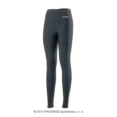 WINTA ladies baselayer tights black/white print