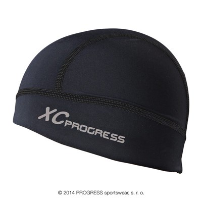 XC CEP sports beanie black/red-white sew.
