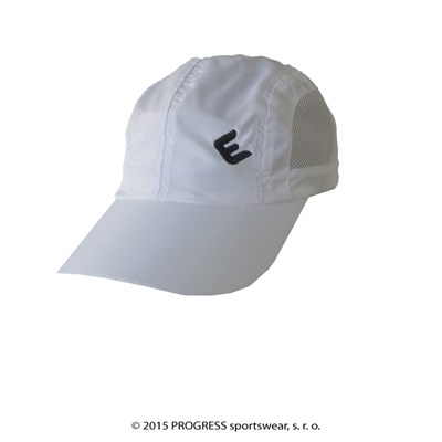 LITE CAP peak cap with mesh white