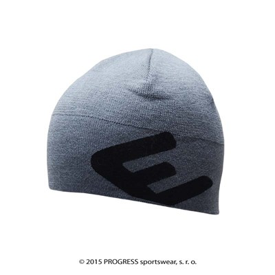 SLIMMER knitted beanie grey