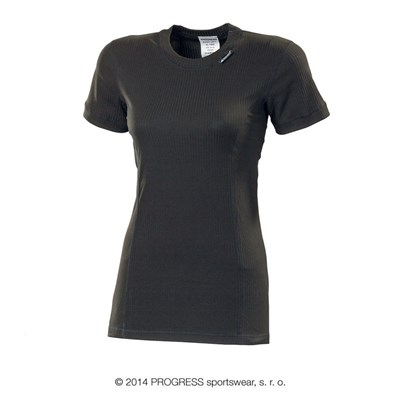 ML NKRZ ladies baselayer short sleeve T-shirt černá