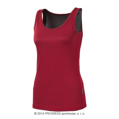 MS NBRZ ladies baselayer singlet white