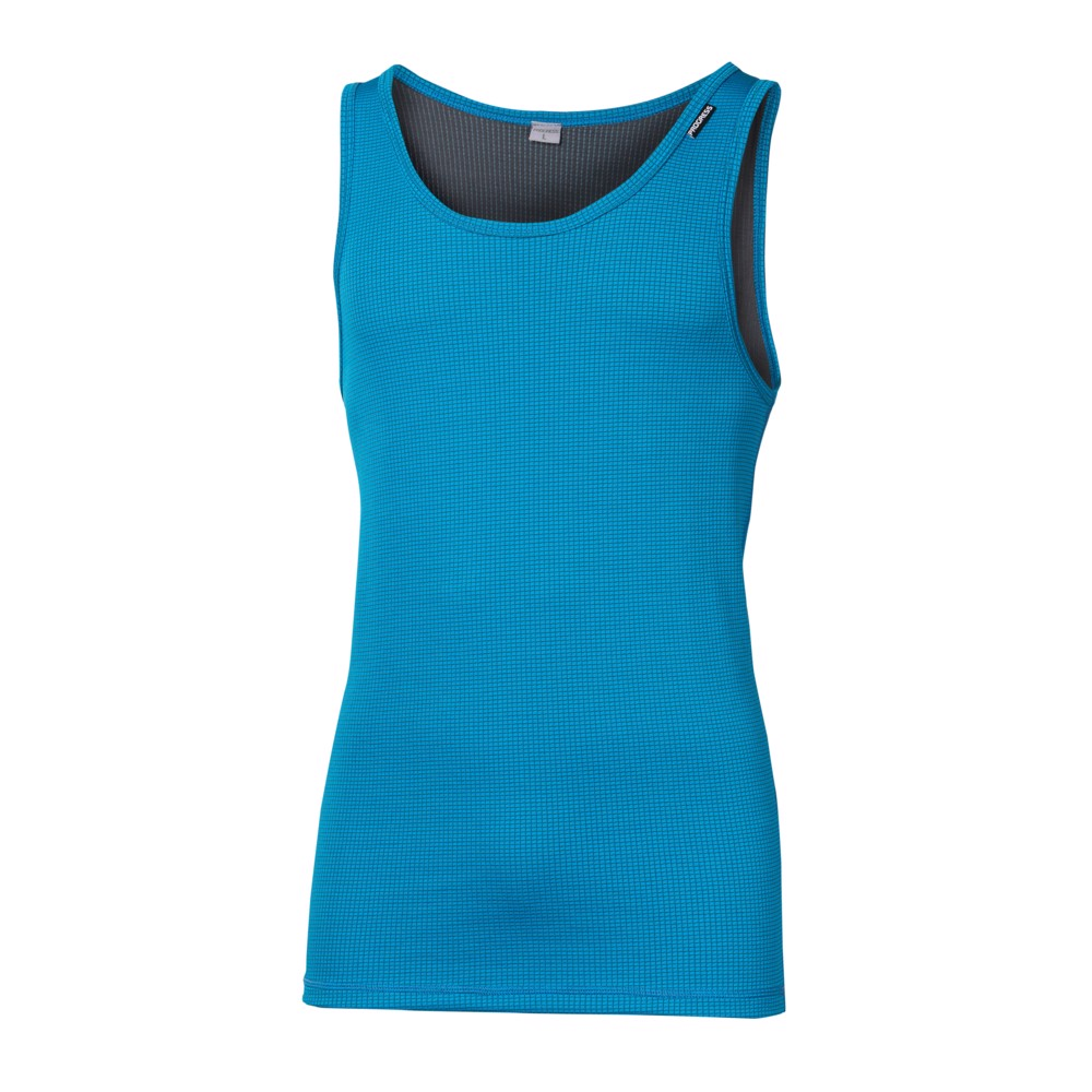 MS NBR mens baselayer singlet blue