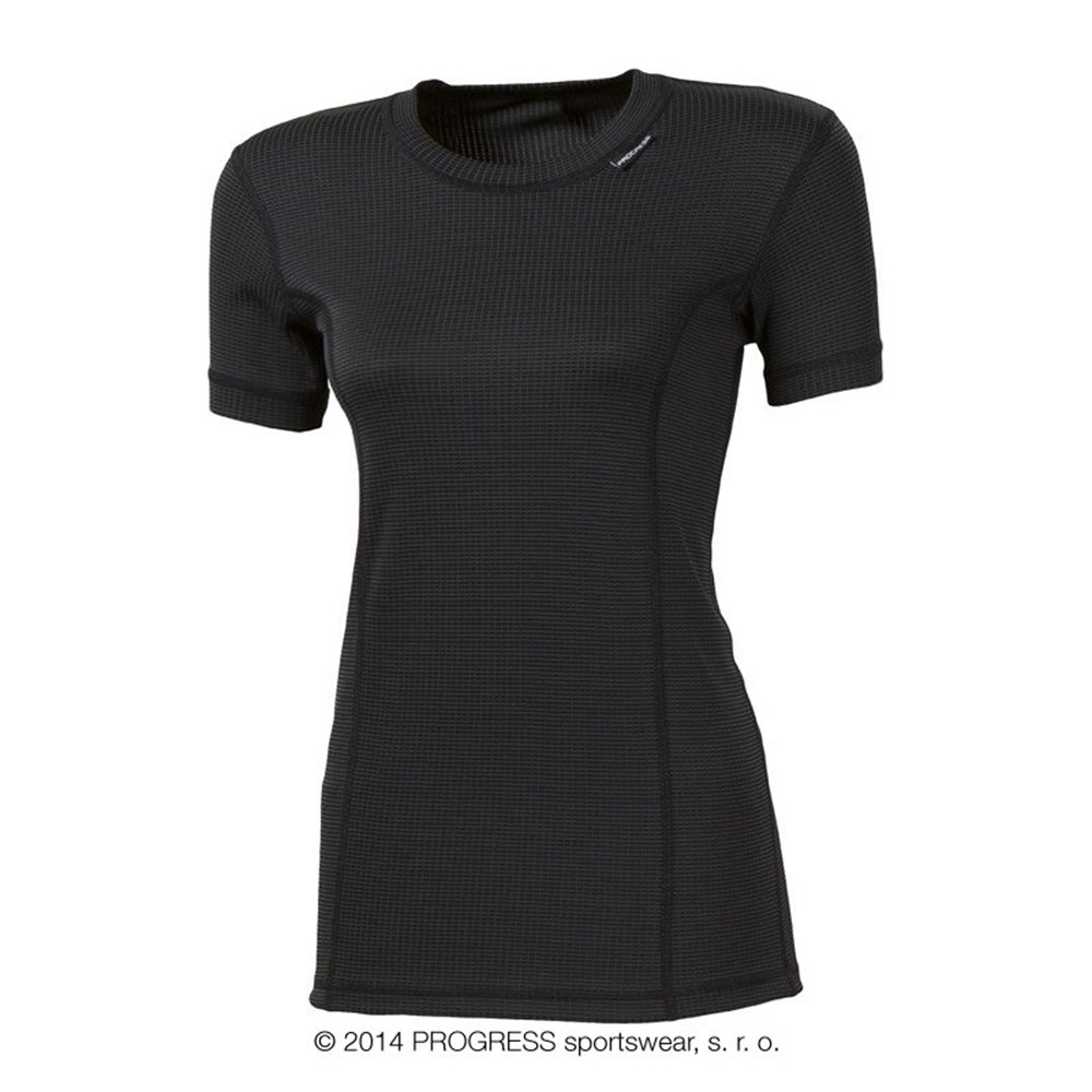 MS NKRZ ladies baselayer short sleeve T-shirt white