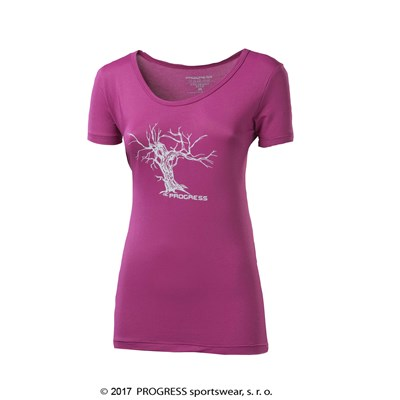 "SONATA ladies T-shirt turquoise-""bird"""