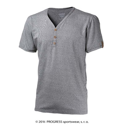 BOTTON mens bamboo V-neck T-shirt