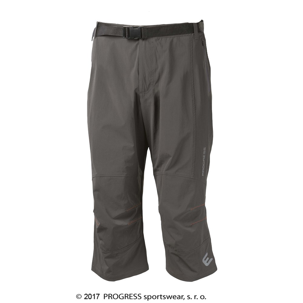 ROCKY 3Q mens hiking-climbing 3/4 pants grey
