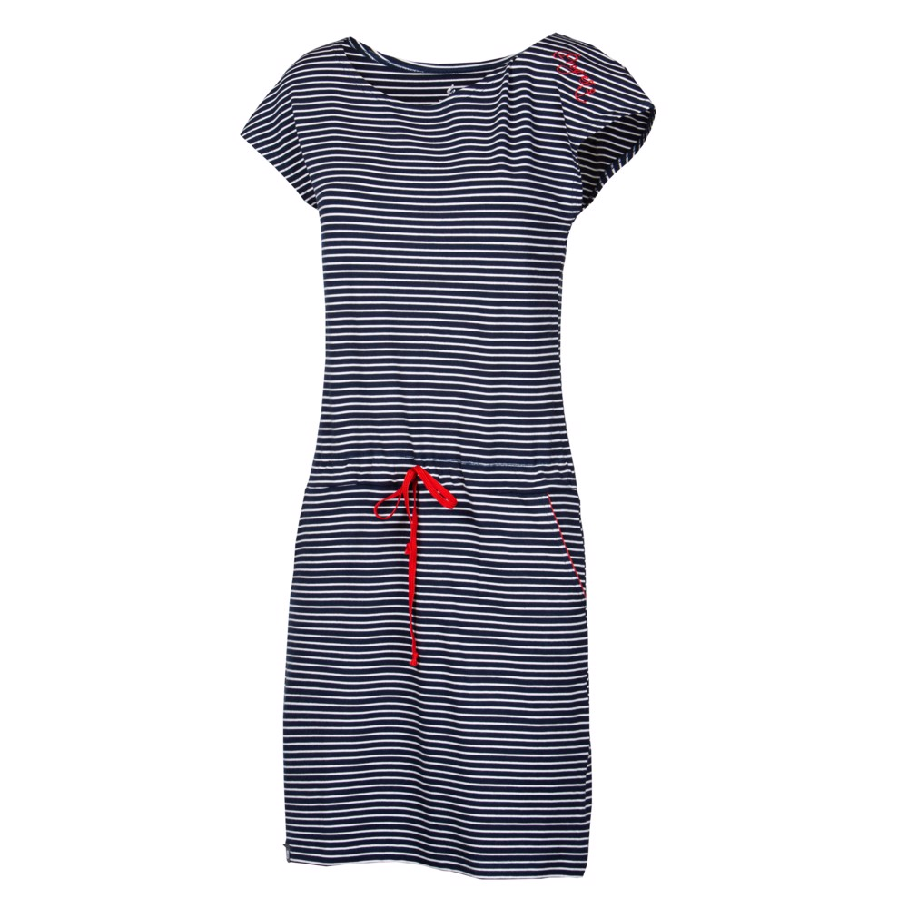 MARTINA ladies dress with bamboo Dk.blue