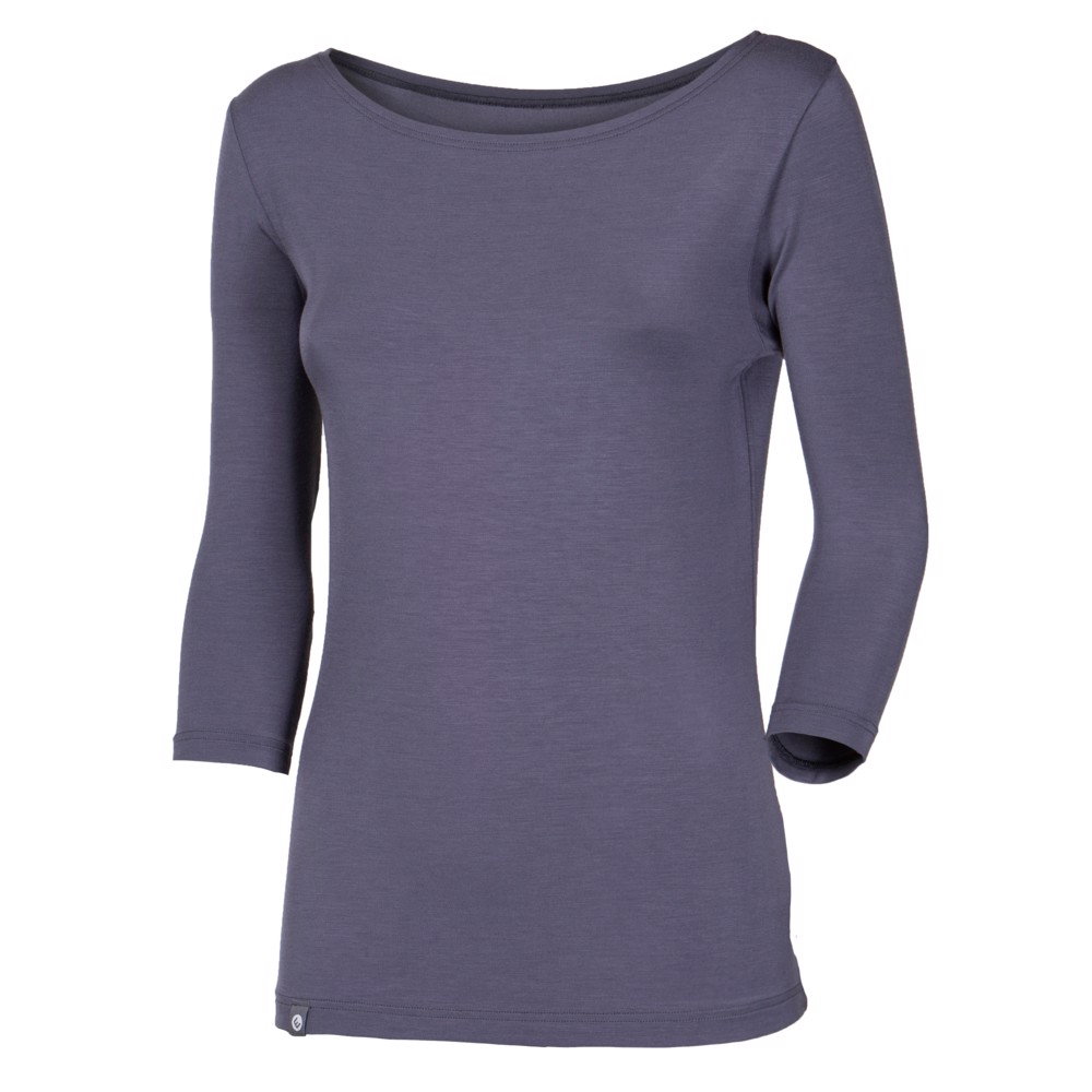 ANIKA ladies 3/4 sleeve T-shirt grey
