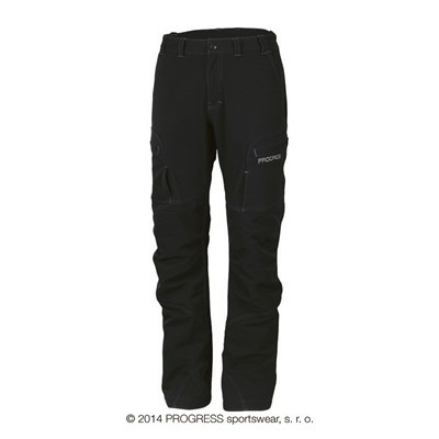 KANDAHAR mens winter technical pants white/black