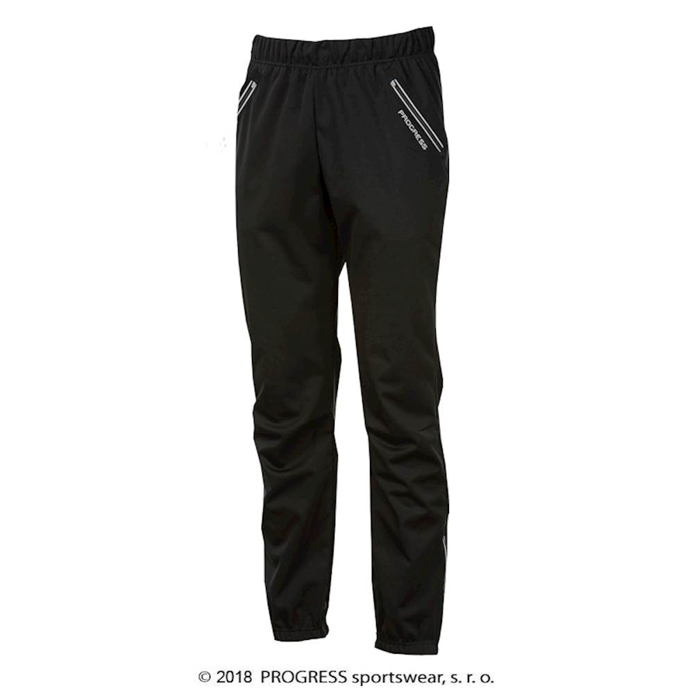 FROSTY mens softshell pants black