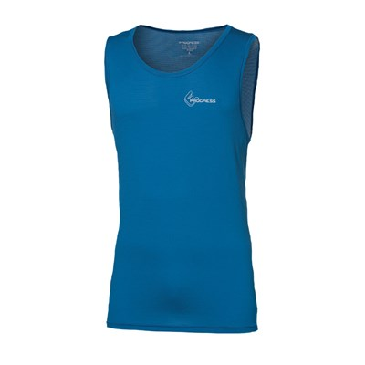 ST NBR mens baselayer singlet anthracite