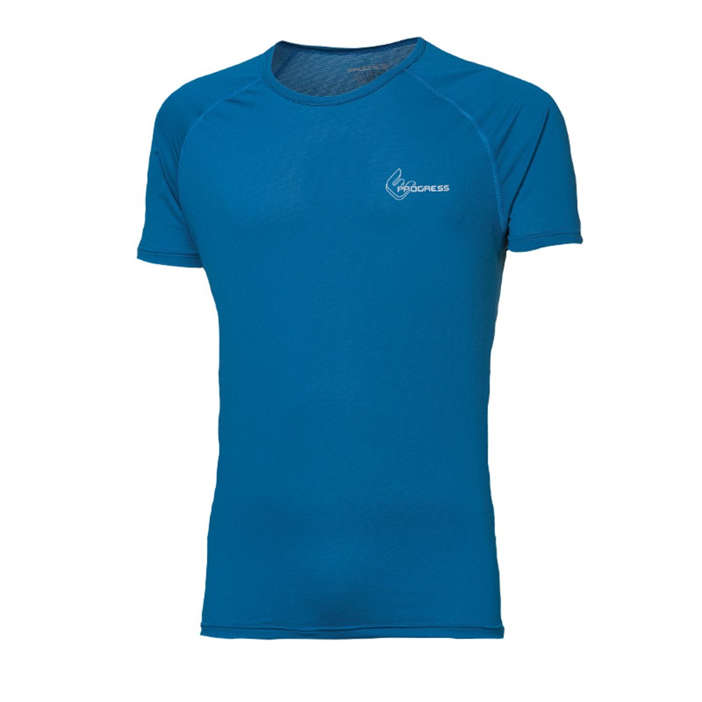 ST NKR mens baselayer short sleeve T-shirt anthracite