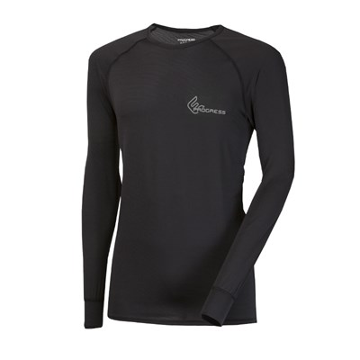 ST NDR mens baselayer long sleeve T-shirt anthracite