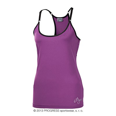 TAYRA ladies training singlet black