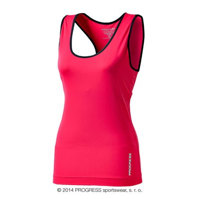 NENA ladies training singlet black