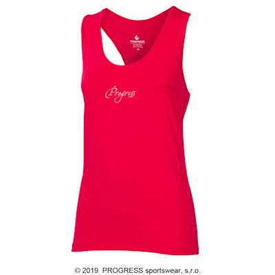 SHELBY Ladies sports singlet pink