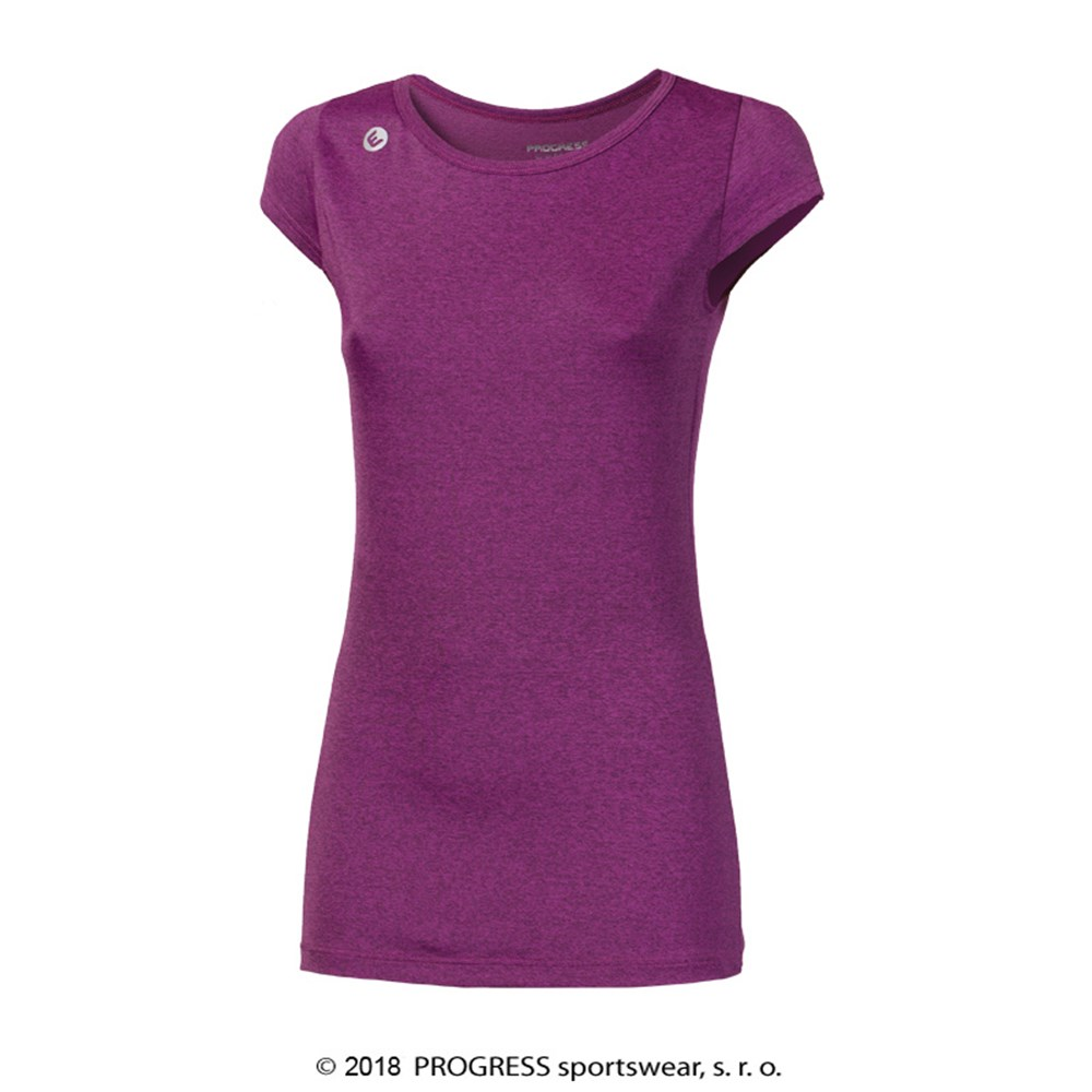 MERIDA ladies sports T-shirt blue melange