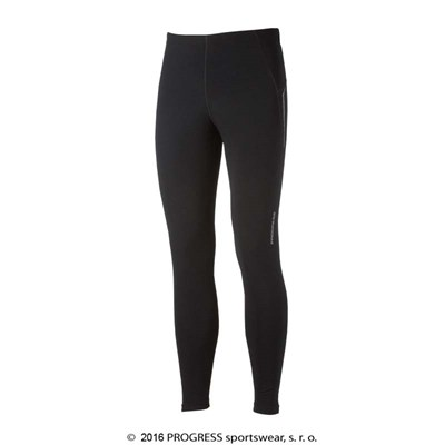 SKIPY mens running tights black