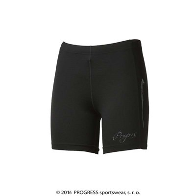 KENGURA SHORTS ladies running short tights black