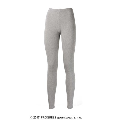 MONZA ladies bamboo leggings grey melange