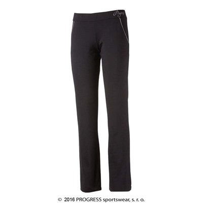 LEVIGA II ladies training pants black/pink melange