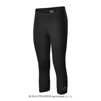 FLORIDA 3Q ladies 3/4 leggings black