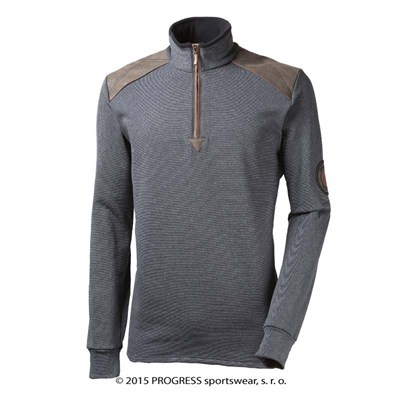 MAXIM mens zip neck pullover