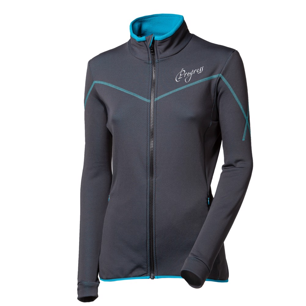 TS KEIKO ladies sports full zip jacket black