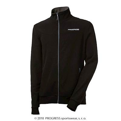 LEGEND mens fleece jacket black