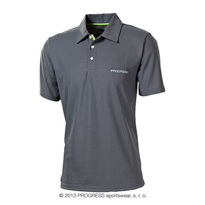 POLO mens polo shirt blue
