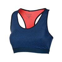 CAVALLINA sports bra blue melange