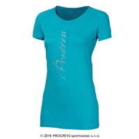 MANIA ladies sports T-shirt Lt.blue