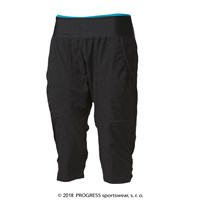 SAHARA 3Q ladies 3/4 pants black/turquoise
