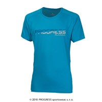 MANIAC mens sports T-shirt blue