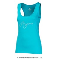 MISTICA ladies sports singlet Lt.blue