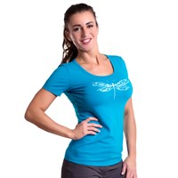 "SASA ""DRAGONFLY"" ladies T-shirt Lt.green"