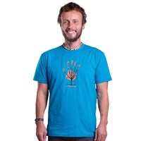"BARBAR ""TREE"" mens T-shirt turquoise"