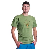 "BARBAR ""TREE"" mens T-shirt green melange"
