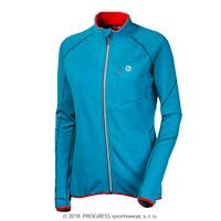 TRAMONTANA ladies full zip jacket turquoise