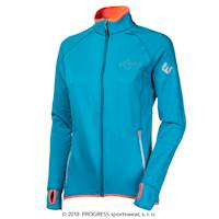 TISPA II ladies sports full zip jacket turquoise