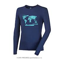 "VANDAL ""EARTH"" mens T-shirt navy"